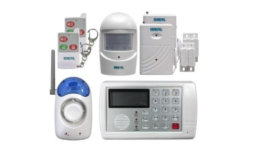 Wireless Home Security Alarm System Surveillance